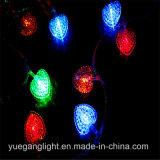 Veelkleurige Lichte leiden van het Koord met de Tegenhanger van het Patroon van het Hart