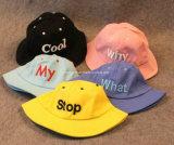 Algodón Kid / Baby Bucket Sombreros Niños Sun Hat