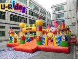De opblaasbare Stad van de Pret voor het Spelen van Kinderen