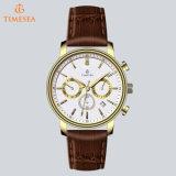 La marca original de acero inoxidable de lujo Men's Watch 72409 Cool relojes Chronograph