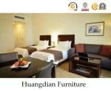 Chinesische Lieferanten-festes Holz-kundenspezifische Hotel-Schlafzimmer-Suite-Möbel (HD029)