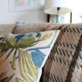 Fábrica de suprimentos Almofadas de linho de algodão luxuoso Cadeiras
