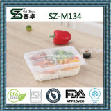 Vente en gros d'épaisses Take Away Single Compartment Disposable Plastic Food Container