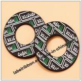 Etiquetas engomadas de goma del PVC del PVC del diseño modificado para requisitos particulares para la venta