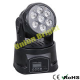 Rgwb 소형 이동하는 맨 위 가벼운 /LED 소형 이동하는 맨 위 빛4 에서 1 LED 7X10W