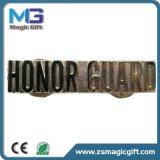 Kundenspezifisches Gold überzogene Metallstifte, weiche Decklack-Markierungsfahnen-Revers-Stifte mit Epoxy-Kleber