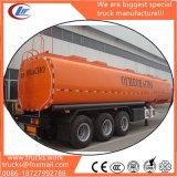 3-Axls 50 metros cúbicos de depósito de aceite combustible nuevo precio remolque semi