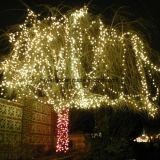 Luzes impermeáveis da corda do diodo emissor de luz da filial de árvore da classe comercial