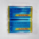 2pcs Reducir el tamaño de la batería alcalina de 9V 6LR61