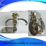 Infuseur de thé à la feuille avec des chaînes / filtre à thé en acier inoxydable / balle de thé