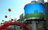 P10 Outdoor Waterproof 360 Degree Round LED Display