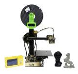 상승 소형 높은 인쇄 속도 휴대용 Fdm 디지털 3D 인쇄 기계