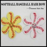 Atendimento personalizado em couro Sport Softball Arco de cabelo