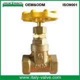 Il piatto di nichel di qualità di OEM&ODM ha forgiato la valvola d'arresto d'ottone con il manico a t (AV4003)