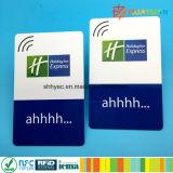 Schlüsselkarte des Zugriffssteuerung-Sicherheitssystem-MIFARE klassischen des Hotel-1K