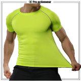 T-shirts faits sur commande d'hommes d'usure de gymnastique