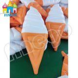Giocattolo di galleggiamento gonfiabile del gelato del Popsicle dell'acqua dell'anello di nuotata dell'acqua
