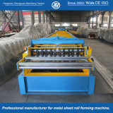 Roulis galvanisé de Decking d'étage formant des machines