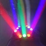 9 Les yeux d'éclairage LED Spider Disco de gros de déplacement du faisceau