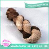 Großhandel Hand Knitting bunte weiche dünne Acryl Wolle Nylon Effektgarn