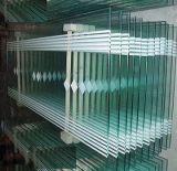 Construction de cloisons en verre trempé de cloison de verre unique