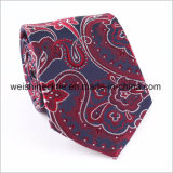 Mens tissu de soie Cravate Handmade Jacquard cravate d'affaires