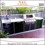 N & L cozinha modular de aço inoxidável cozinha portátil ao ar livre