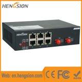 6 megabits Tx interruptor de rede do acesso do Ethernet de um Fx de 2 megabits