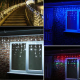Decoración impermeable al aire libre de la Navidad 5m * (0.4 / 0.6 / 0.8) 216LEDs LED Icicle Light