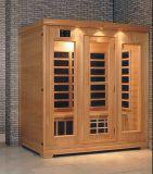 Stevige Houten Infrarode Sauna met Aangepaste Grootte (bij-0926)