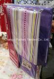 Fábrica al por mayor polivinílica/hoja de cubierta determinada de base del lecho moderno de la colcha de la tela del material del algodón que acolcha del mismo tamaño