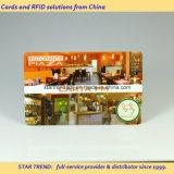 Vier Farben-Drucken-Karte mit magnetischer Streifen-Unterzeichnung für Gaststätte