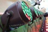 ズームレンズの段階ライトディスコライト党ライトが付いている1つのBeeyeの同価ライトに付きLED 19*15W RGBW 4つ