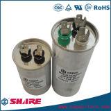 Condensador metalizado Cbb65 de la película para el compresor del congelador