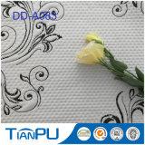Tissu 100% enduit de jacquard d'unité centrale de polyester pour des protecteurs de matelas