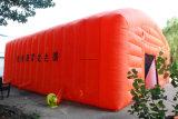 Tienda túnel partido grande inflable