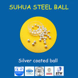 Silber/Gold/Nickel/Zink/Zinn /Copper/überzogene Stahlmessingkugel