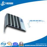 Escalera de aluminio de la pieza inserta de encargo del carborundo que olfatea para las escaleras concretas