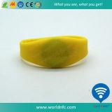 Wristband personalizado do silicone de Sli NFC RFID do código de I para o controle de acesso