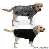 Veste en chandail en molleton réfléchissant en chaleur Reversible Winter Large Dog Clothes