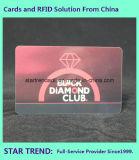 Cartão de presente Quatro cores com fita magnética para X'mas