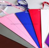 Caixa triangular da flor do presente da loja de flor da caixa do Rosette da única filial