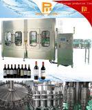 Planta roja del embotellamiento de vino de la botella de cristal de la vodka automática de Champán