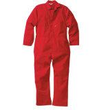 Combinaison 100% bleue de bavoir de sûreté de vêtements de travail de coton classique de sûreté