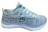 Le Knit classique de mouche de modèle folâtre les chaussures de course de chaussures