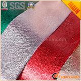 Película metálica fabricantes laminados da tela