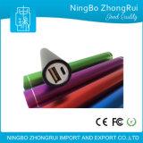 Batería Shaped redonda larga de la potencia con el conjunto grande del regalo de la promoción de la capacidad