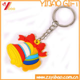 PVC molle di gomma su ordinazione promozionale Keychain