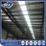 Almacén/planta/almacén de la estructura de acero con el panel de emparedado