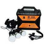 jogo solar Home portátil da iluminação da potência da energia do painel de 10W picovolt